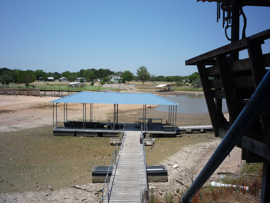 6-12-11 Interval again one week.  Already the water level at the other dock is getting low too.